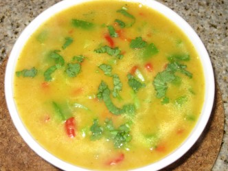 Capsicum in Potato Gravy 2