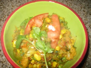 Quick Mixed Vegetable